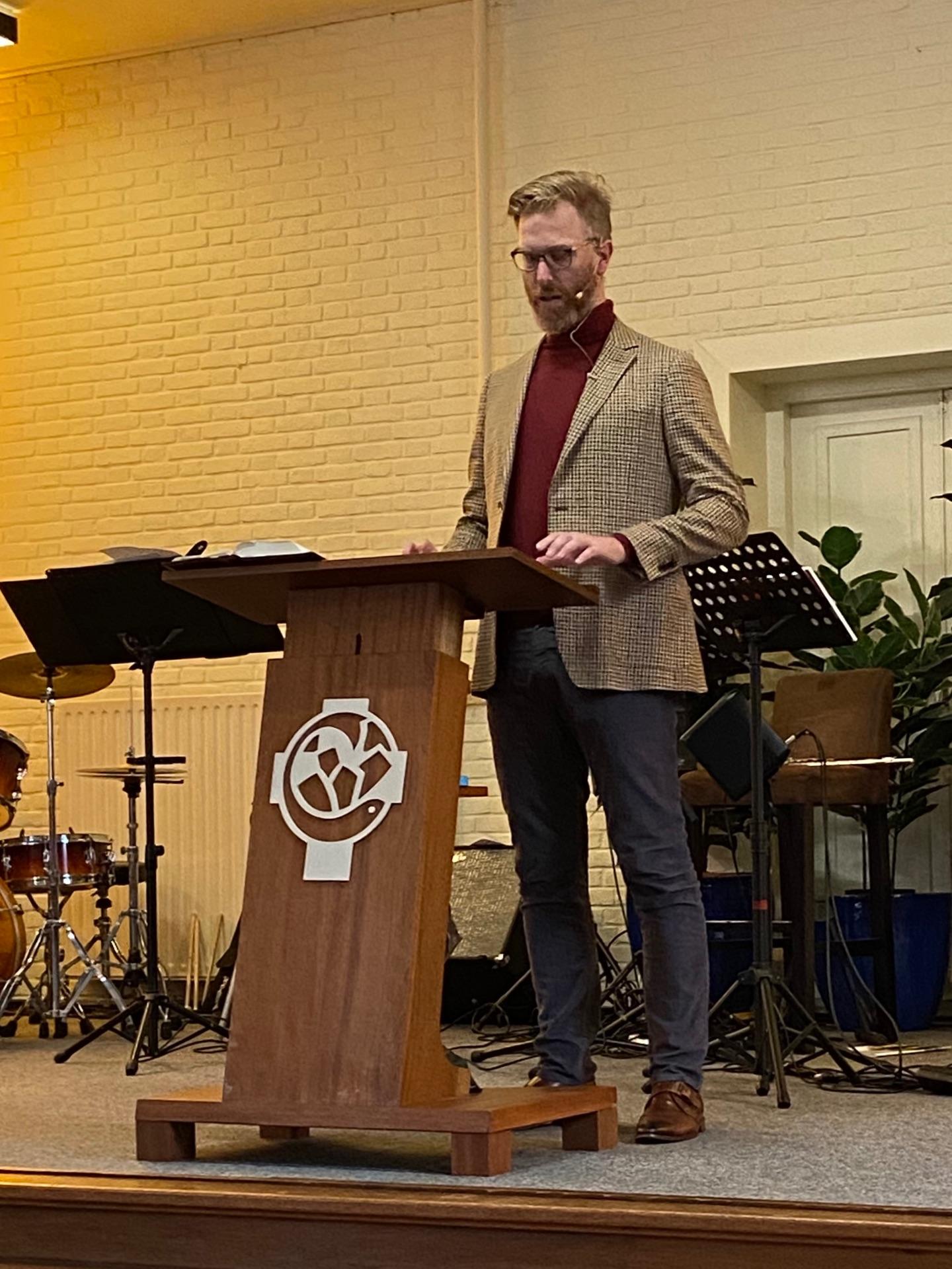 Avondmaalsdienst met Martijn van Geilswijk